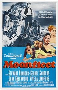 Cartel de la película Los contrabandistas de Moonfleet
