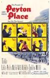Cartel de la pelicula Peyton Place