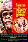 Cartel de la película Regreso al planeta de los Simios