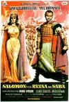 Cartel de la película Salomón y la reina de Saba