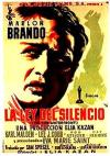 Cartel de la película La ley del silencio