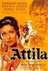 Cartel de la película Atila: Hombre o demonio