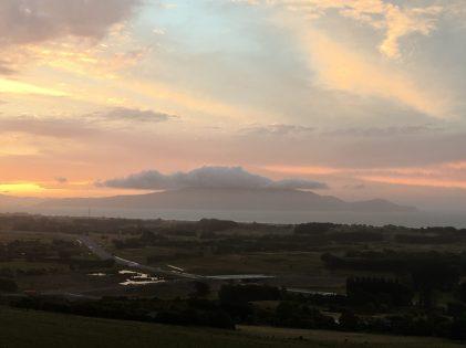 Pastel Island Sunset