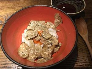 トリュフ卵かけご飯