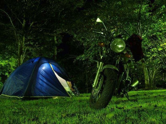 兜沼公園オートキャンプ場