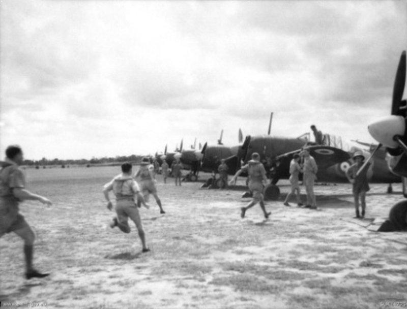 453_Squadron_RAAF_Buffalo_fighters_scrambling