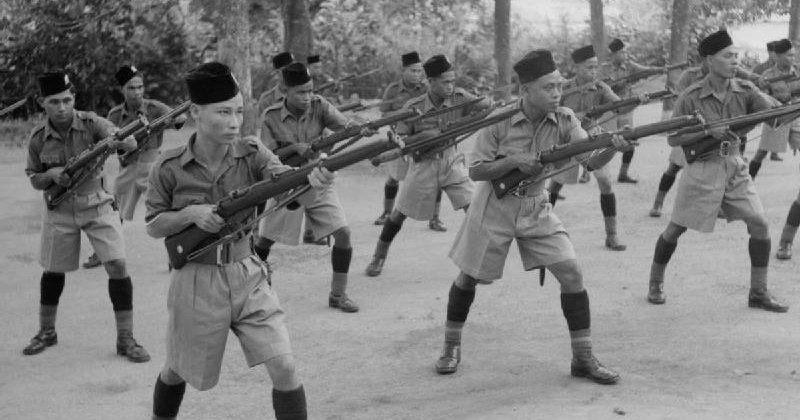 Penubuhan Kompeni Percubaan Askar Melayu