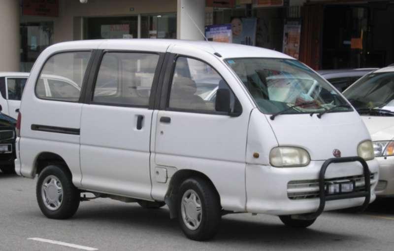 Perodua keluaran pertama