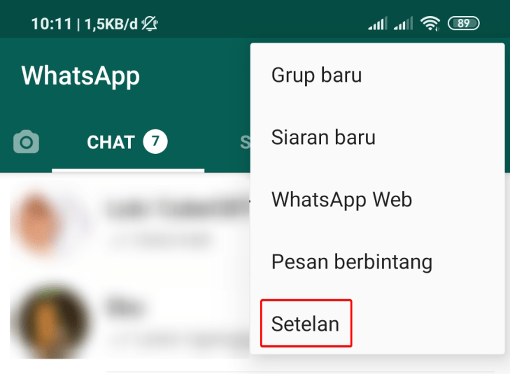 Cara Ganti Wallpaper WhatsApp