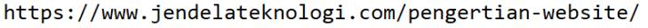 Bagian URL