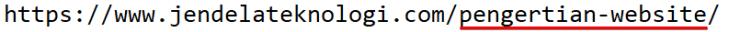 Sub-directory Domain