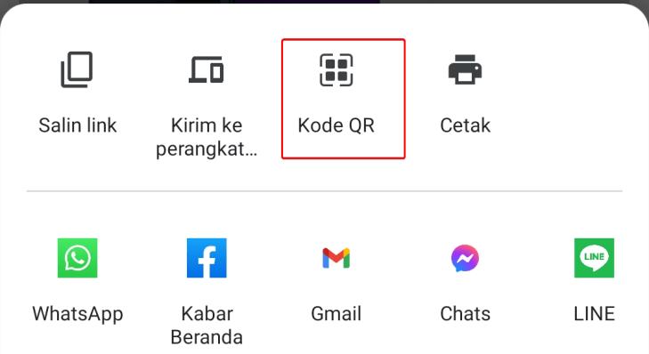 Cara Membuat Kode QR di Google Chrome Android