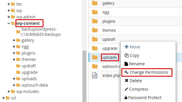 Upload: Failed to Write File to Disk - Change Permission