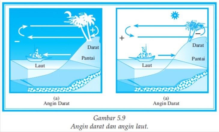 Angin darat dan laut
