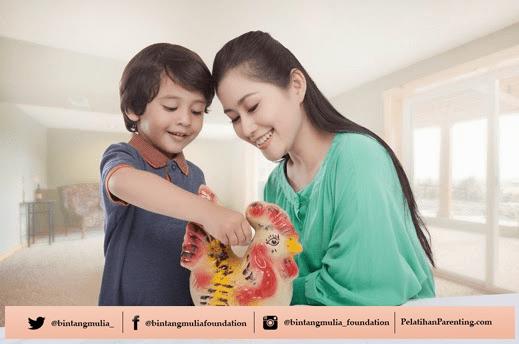cara melatih anak menabung
