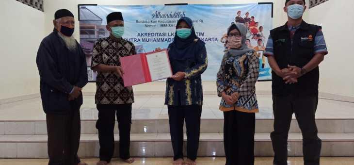 "Akreditasi ""A"" Lembaga Kesejahteraan Sosial Anak Putra Muhammadiyah Yogyakarta"