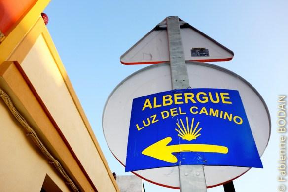 Guillena compte deux auberges : l'une municipale, et l'autre privée, l'albergue Luz del Camino. © Fabienne Bodan