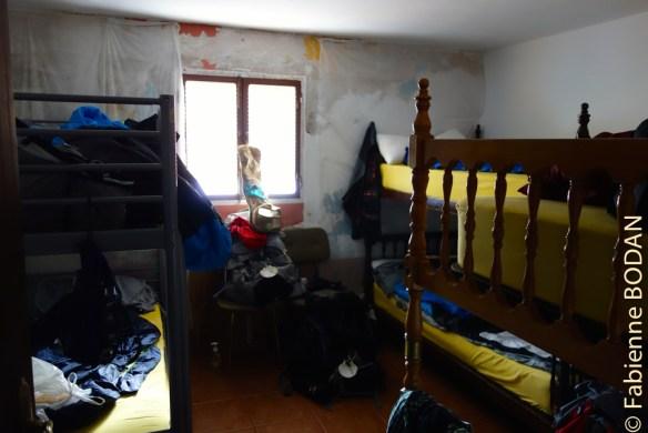 Les chambre sont petites...mais suffisantes pour dormir...© Fabienne Bodan