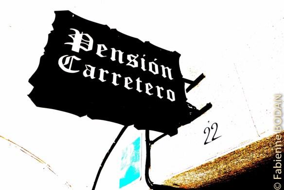 La Pension Carretero est emarquablement bien située sur la Plaza Mayor de Cacéres © Fabienne Bodan