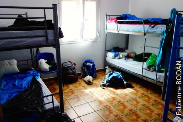 Les dortoirs sont à taille humaine, avec suffisamment d'espace pour chacun. © Fabienne Bodan