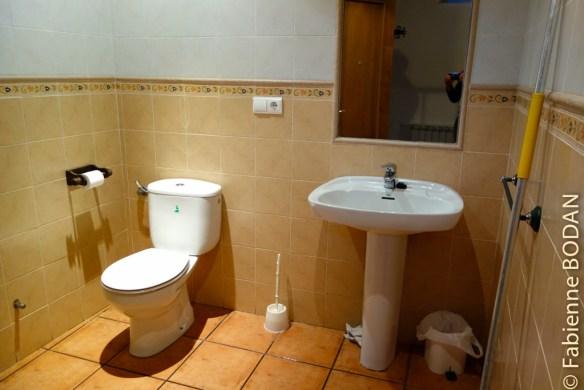 Dans chaque dortoir, une salle de bains...© Fabienne Bodan