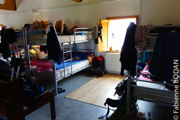 Le dortoir se situe à l'étage...© Fabienne Bodan