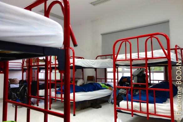 Lits superposés avec suffisamment d'espace entre les lits...© Fabienne Bodan