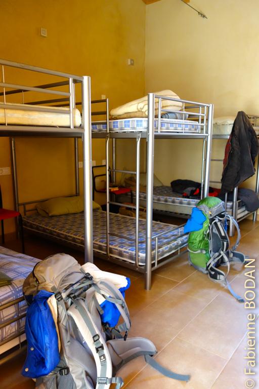 Deux dortoirs de 7 lits chacun...© Fabienne Bodan