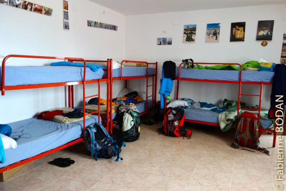 Un unique dortoir...avec des matelas qui mériteraient parfois d'être changés...© Fabienne Bodan