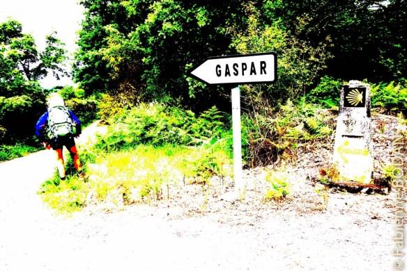 """Chemin faisant avec...Gaspar sans le """"d"""" ! © Fabienne Bodan"""