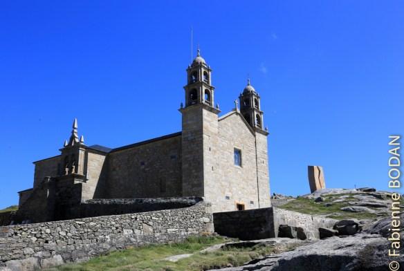 Le Sanctuaire de la Virgen de la Barca, reconstruit après l'incendie criminel qui l'a réduit en cendres le 25 décembre 2013 © Fabienne Bodan