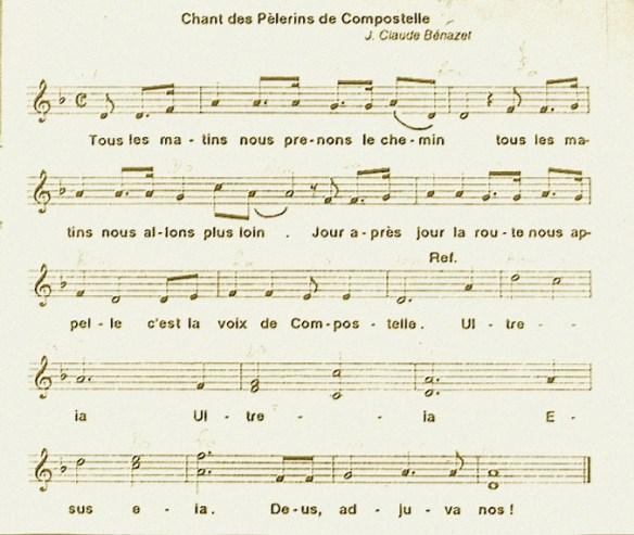 Le chant des pèlerins