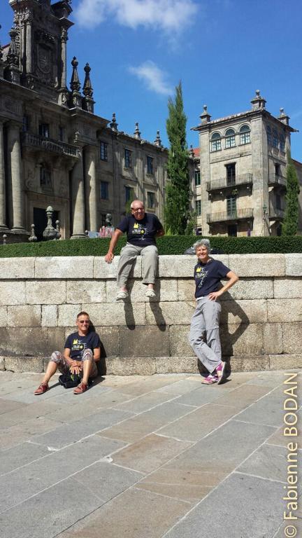 Les Trois Mousquetaires de la Via de la Plata ! © Fabienne Bodan