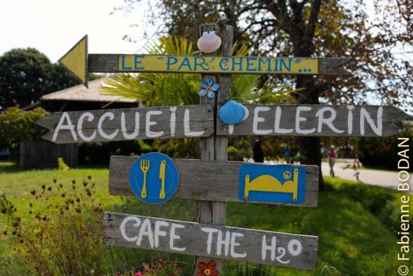 A l'entrée d'Espalais sur la gauche, Vincent le Suisse vous accueille en libre participation aux frais. © Fabienne Bodan