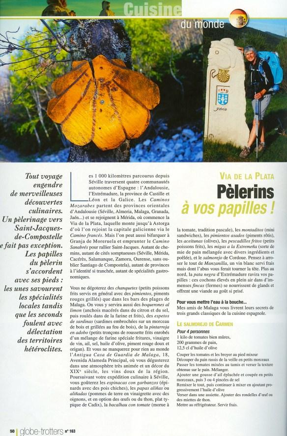 Page 50 de Globe-Trotters Magazine N°163.