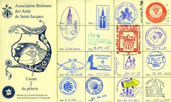 La crédentiale, passeport du pèlerin