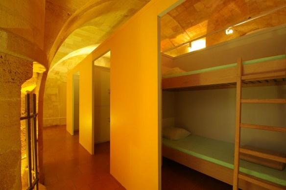 Les dortoirs de la maison du pèlerin de Bordeaux © Association Bordeaux Compostelle