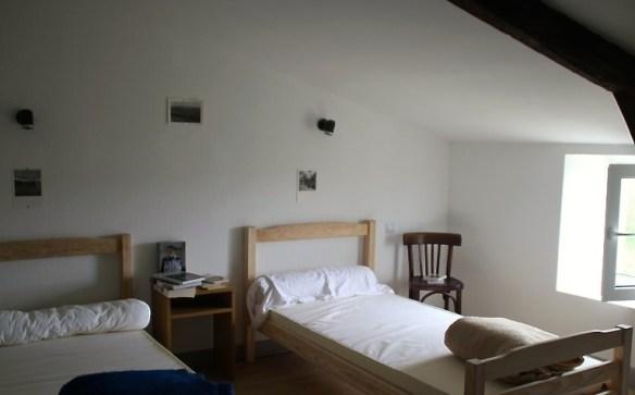 Une chambre du gîte de Gramat, capture d'écran du site © Gîte de Gramat, capture d'écran du site © http://www.gramatgitepelerin.com