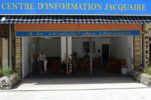 Le centre d'information jacquaire de Lourdes. Source : site internet de l'association.