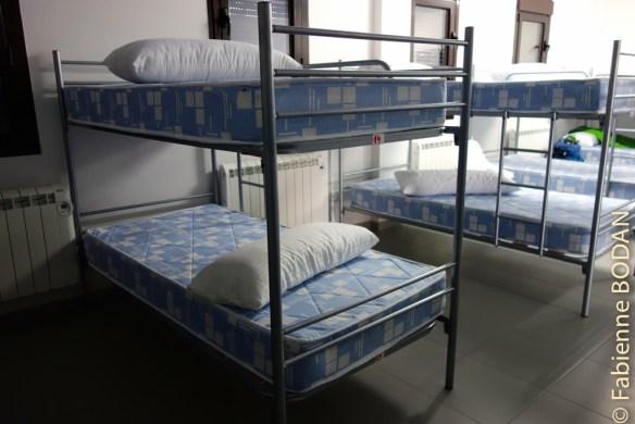 Le dortoir du rez-de-chaussée (20 lits) © Fabienne Bodan