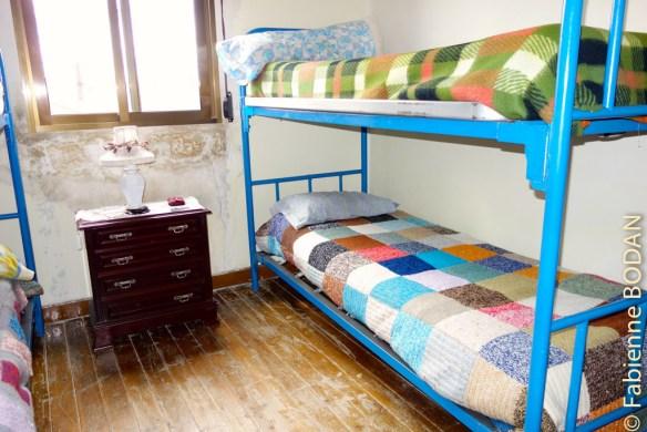 A l'étage, des mini-dortoirs de 2, 3 ou 4 lits © Fabienne Bodan