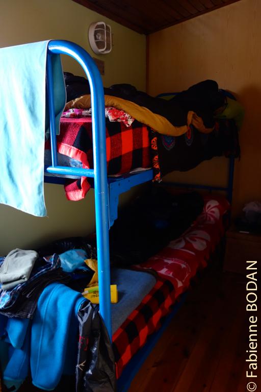 2 petits dortoirs de 4 lits © Fabienne Bodan