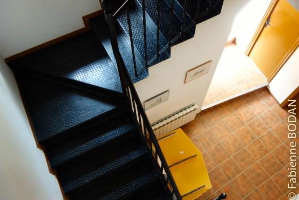 La vieille et belle bâtisse a été récemment rénovée © Fabienne Bodan