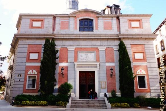 Eglise Santiago de Madrid, sur la place de même nom