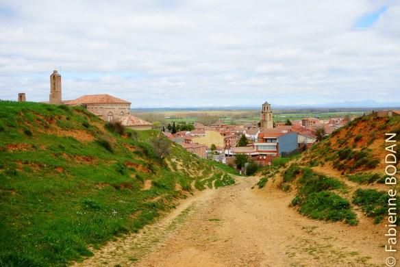 Camino de Madrid : l'arrivée à Sahagun