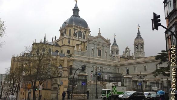 Cathédrale Nuestra Señora de la Almudena, Madrid © Fabienne Bodan