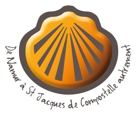 Logo du trail de Namur sur le chemin de Saint-Jacques