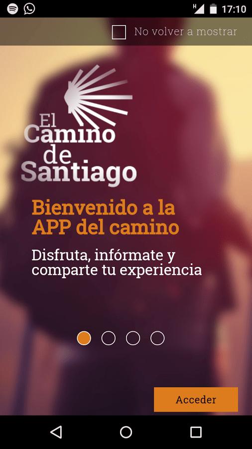 L'application pour mobiles de l'office de Tourisme galicien sur les chemins de Santiago en Galice