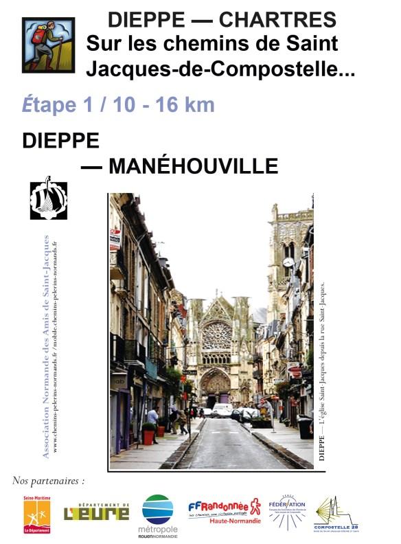 De Dieppe à Chartres sur les chemins de Saint-Jacques