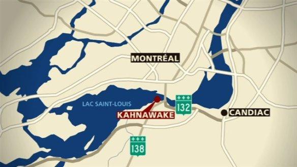 Réserve amérindienne de Kahnawake, Québec (Canada)